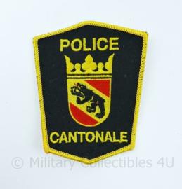 Zwitserse Police Cantonale embleem - Kantonpolizei - 8 x 10 cm - origineel