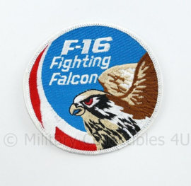 F16 Fighting Falcon  embleem - diameter 9 cm - origineel