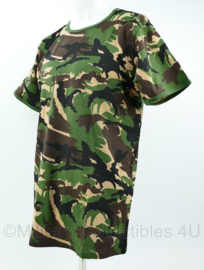 KL Nederlandse leger woodland shirt - ongedragen - maat Large of Extra Large - origineel