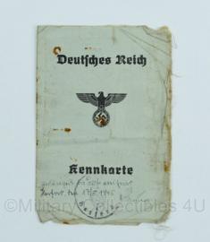 Wo2 Duitse Kennkarte uit  1940 - origineel