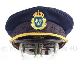 Zweedse leger platte pet - maat 57 - origineel