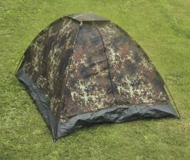 Tweepersoons tent - Flecktarn camo