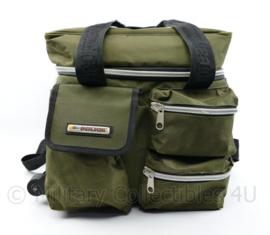 Italmausa Maurice Moreau zware gevoerde tas met wieltjes - Dj's trend brand research - 38 x 38 x 32 cm - origineel