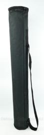 ronde kokertas met draagriem en versterkte rand - 97 x 14 cm