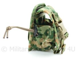 Nederlandse Leger nieuwste model NFP Multitone MOLLE hand grenade pouch Sioen - 12 x 8 x 7 cm - origineel