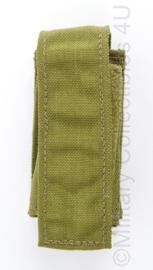 KL Landmacht en US Army coyote MOLLE 40 mm Grenade pouch - afmeting 11 x 5 x 3 cm - origineel