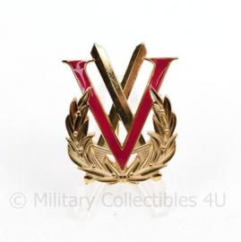Defensie Militaire Vijfkamp insigne  - 5 x 4 cm  - origineel