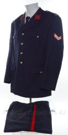 Korps Mariniers Barathea DT jas met broek rang Korporaal  -  Speciale KIM uitvoering  - maat 50 - origineel