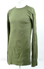 Korps mariniers en US Army groene Shirts met lange mouw - Maat XL - Nieuw - origineel