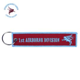 Sleutelhanger WW2 Parachute Regiment 1st Airborne Division - 12,5 x 3 cm