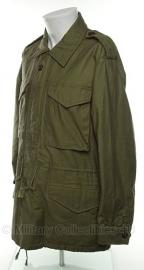 US M51 jacket m1951 (m1943 jacket met rits en voering) korea oorlog periode- maat L, XXL  of 3xl - replic