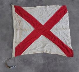 Wo2 Britse seinvlag - 87 x 84 cm - origineel