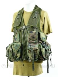 Korps Mariniers Artikis woodland forest camo OPS vest - verstelbaar S tm Xl - Origineel