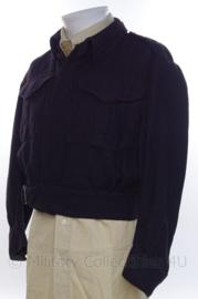 Canadees WO2 Battledress jasje - zwart geverft - maat S of M - origineel