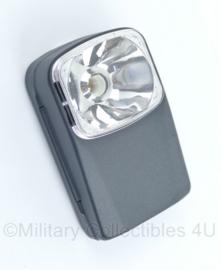Zaklamp grijs  - afmeting 10,5x6,5x3 cm - origineel