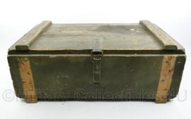 Militaire houten kist NL 78 van 1978  - 38 x 64 x 25 cm - origineel