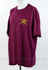 Defensie T-shirt 11e Air Assault Engineers - maat XL - origineel