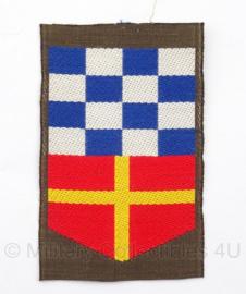 KL Nederlandse leger DT Korps Nationale Reserve embleem - 8 x 5 cm - origineel