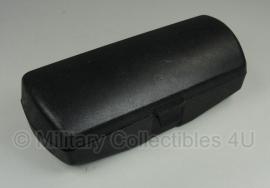Brillen etui - zwart - hard kunststof  - 16,2 x 5,8 x 4,5 cm. - origineel oostenrijks leger
