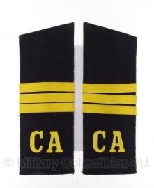 Russische Marine Schouderstuk CA -  stof - origineel