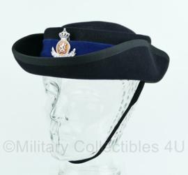 Kmar Marechaussee dames hoed , Hassing BV,  vorig model met insigne - maat 56 - origineel