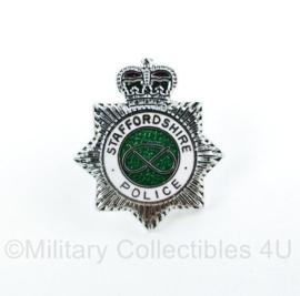 Speld Britse Stafffordshire Police - origineel