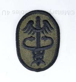 US Army Medical Command Patch - 8 x 5 cm - origineel
