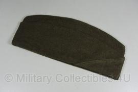 Overseas cap Garrison cap OD Green wool net naoorlogs 1952 - meerdere maten - WO2 US model