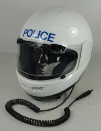 Britse politie motorhelm - merk Aral FV nr. 5