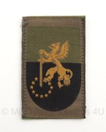 KL Nederlandse leger eenheid arm embleem 41 Lichte Brigade 8 x 5,5 cm. - met klittenband - origineel