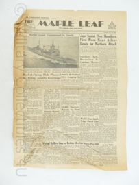 Krant Maple Leaf -30 June 1945 -  origineel