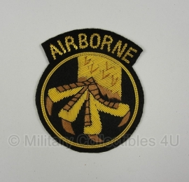 US Army 17th Airborne patch - officer type