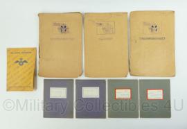 MVO en KL jaren 60 aan- en afvoertroepen document set - origineel