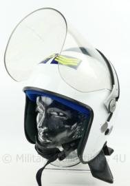 Britse MP Military Police Helmet Argus APH - maat 5 = 62/63  - zeer groot - origineel