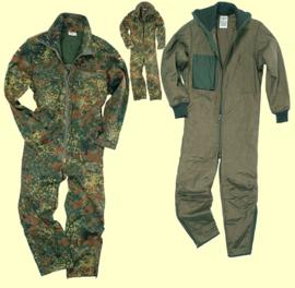 Bundeswehr flecktarn Koud weer overall -  MET VOERING - origineel
