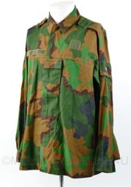 Nederlands leger en Korps Mariniers JUngle basis jas - nieuwe model 2017 - met extra borstzakje - maat 6080/9500 - zeer goede staat- origineel