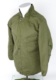 US Army NBC parka Suit Chemical protective - groen - maat Medium - origineel 1978