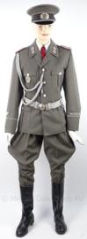 DDR  uniform set, jasje, pofbroek, koppel, pet en nestel - maat 52/54 = Large- origineel