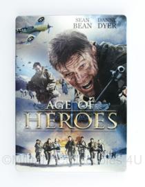 DVD Age of Heroes - speeltijd 91 minuten - nieuw - 19 x 13,5 cm  - Splendid film
