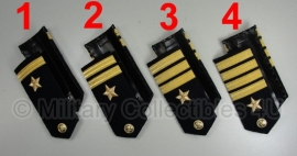 Marine officier Schouderstuk set - prijs per paar