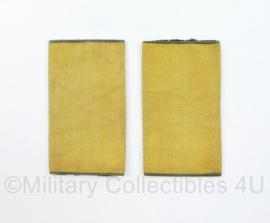 KL VEVA vooropleiding epauletten - 7,5 x 4,5 cm - originel