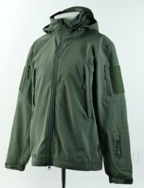 Pentagon Airtaxes softshell jacket - art. K08011-06G - grijsgroen - maat M - gedragen - origineel
