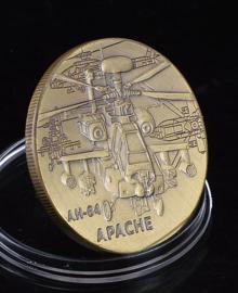 US Army AH-64 Apache coin - 40 mm diameter