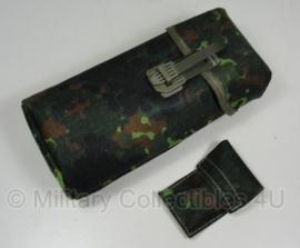 Bundeswehr flecktarn tas voor kijker - harde binnenkant - ongebruikt - origineel