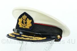 Platte pet Korps Mariniers de Generaals rangen ZEER ZELDZAAM met extra overtrek - Maat 55 - Origineel