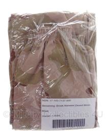 KL Nederlandse leger Desert regenbroek Goretex bilaminaat - maat 7585/7080 - NIEUW in verpakking - origineel