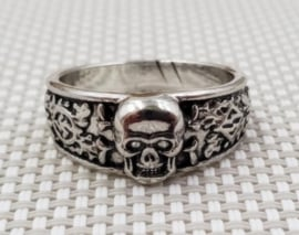 SS Ring SS totenkopf ring - replica - size 7, 8, 9 of 10