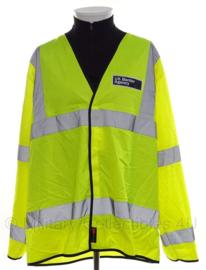 UK Border Agency geel reflectie dunne overjas - size XXL - origineel