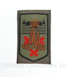 Defensie GVT MA Militaire Academie embleem - 8,5 x 5 cm - origineel