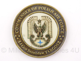 Poolse penning Commander of polish air force - 6 x 6 cm - origineel